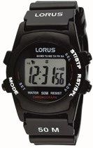 Lorus R2357AX9 - Horloge - Kunststof - 36.5 mm - Zwart