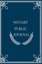 Notary Public Journal
