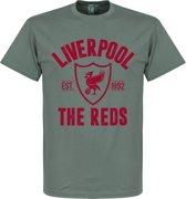 Liverpool Established T-Shirt - Grijs - XXL