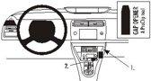 Brodit angled mount v. Citro?n C4 05-