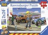 Ravensburger Bob de bouwer. Twee puzzels van 24 stukjes - kinderpuzzel