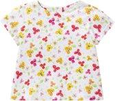 T-shirt Tikkie voor meisjes wit