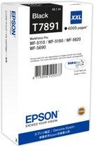 Epson T7891XXL - Inktcartridge / Zwart / Extra Hoge Capaciteit