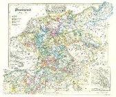 Historische Karte: DEUTSCHLAND von 1649-1792 (Plano)