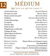 Médium n°12, juillet-septembre 2007