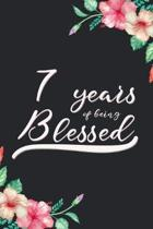 Blessed 7th Birthday Journal