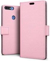 Huawei Y7 2018 hoesje - Book Wallet Case - roze