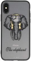 Olifant TPU backcase cover Hoesje voor Apple iPhone X