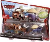 Cars 2 Dubbelverpakking Race Team Mater & Zen Master Pitty