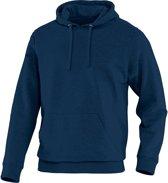 Jako Team Sweater met Kap - Sweaters  - blauw donker - 5XL