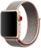 Sport Loop Bandje voor Apple Watch 38mm / 40mm - KELERINO. - Rose