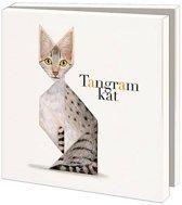Tangram Kat Wenskaarten Formaat 14 5 X 14 5 Cm