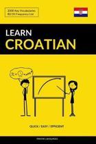 Learn Croatian - Quick / Easy / Efficient