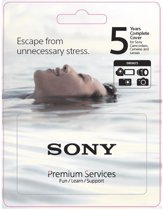 Sony Extented Service Plan. 5 jaar extension