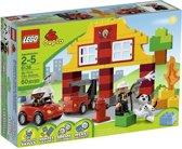 LEGO DUPLO Mijn Eerste Brandweerkazerne - 6138