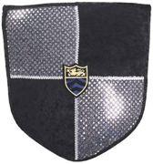 Ridder Schild zilver zwart ridder schild Luxe