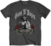 Guns n Roses Heren Tshirt -XL- Death Men Grijs