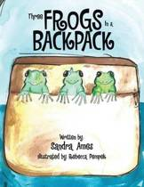 Three Frogs in a Backpack