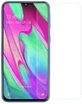 Samsung Galaxy A40 Screenprotector Glas