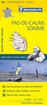 Pas de calais / somme 11301 carte ' local ' ( France ) michelin kaart