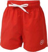 Color Kids Kids Bungo Beach Shorts  Zwembroek - Maat 128  - Unisex - rood
