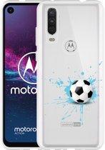 Motorola One Action Hoesje Soccer Ball