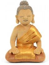 My First Buddha Boeddha knuffel - 28cm bruin