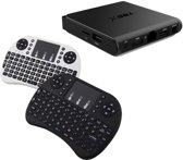 T95X Android TV Box S905X Kodi 16.1 Android 6.0 - 2GB 8GB  + GRATIS Rii i8 Wit draadloos toetsenbord