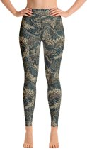 Relax - Yogalegging Dames - Hoge Taille - High Waist  - Japanese Dragon
