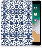 Apple iPad Pro 10.5 Uniek Tablethoesje Flower Blue