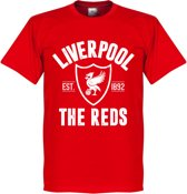 Liverpool Established T-Shirt - Rood - XXL