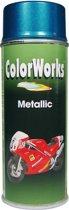 Colorworks 918581 Metallic Alkydlak - Blue - 400 ml