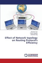Effect of Network Topology on Routing Protocol's Efficiency