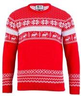 Kersttrui The Red Nordic voor heren L
