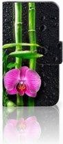LG L90 Boekhoesje Design Orchidee