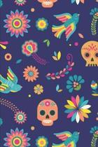 Day Of The Dead Pattern Sugar Skull Santa Muerte 25