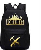 Real Lifestyle Fortnite Rugzak Rugtas Schooltas 26,2 liter - Goud Logo/Wapens