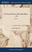 The Poetical Works of Mr. John Milton. ... of 2; Volume 1