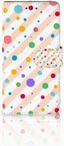 Huawei G8 Boekhoesje Design Dots