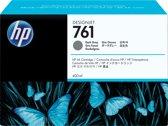 HP 761 - Inktcartridge / Donker Grijs / 400 ML (CM996A)