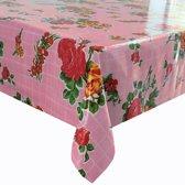 Tafelzeil op rol van 11m bij 120cm rosedal roze.