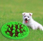 anti schrok voerbak - voerbak honden - voerbak hond - anti braak - slow Feeder - eet bak - voorkomt schrokken en snel eten