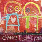 Poul Pava - Doek Change the World - 120x120 cm