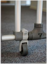 A-Plast - Steunwiel Voor Aluminium Traphek Groot
