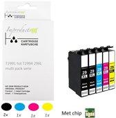 Improducts® Inkt cartridges - Alternatief Epson 29XL / 29 XL 5 stuks