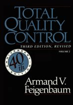 Total Quality Control, Revised (Fortieth Anniversary Edition), Volume 2