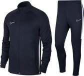 Nike Academy  Trainingspak - Maat M  - Mannen - donker blauw/wit