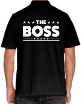 The Boss poloshirt zwart voor heren - The Boss polo t-shirt L