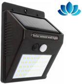 GoodRey ™ - Automatische Solar LED lamp - 48 LED - Bewegingssensor - Zonne-energie - Tuinverlichting voor hek en wand