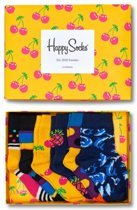 Happy Socks Sokken Kids Giftbox 6-pack 15-18 - Multi -